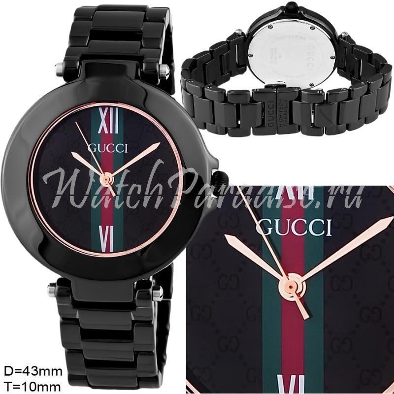 Точные копии часов GUCCI Pantheon 0318, Наручные часы GUCCI женские, купить копии часов Гуччи в Минске магазин New-time.by