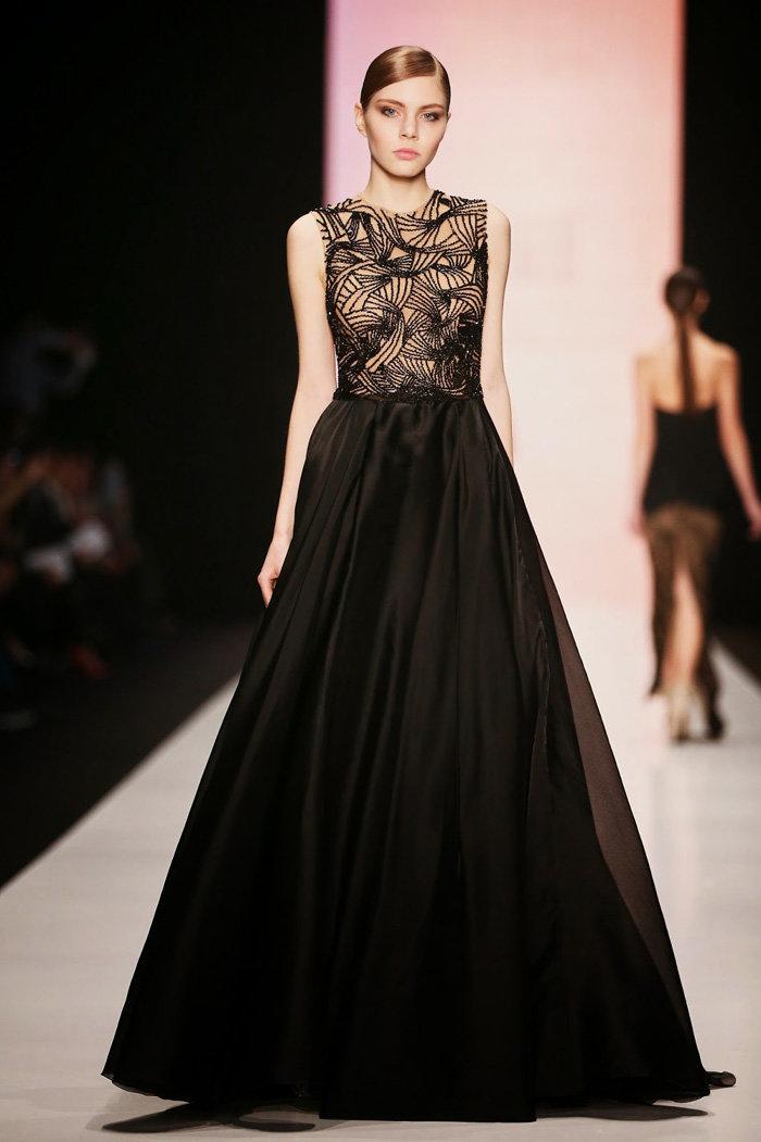 Вечернее платье от Tony Ward