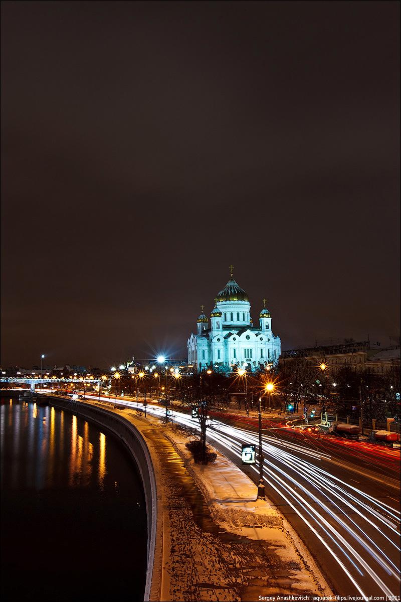картинки на телефон пейзажи ночной москвы наверное