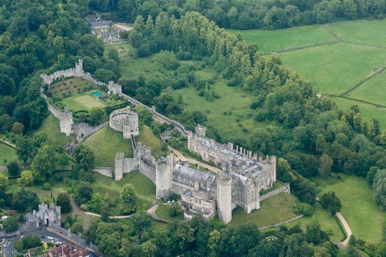 Имение герцога Норфолка, замок Арундел