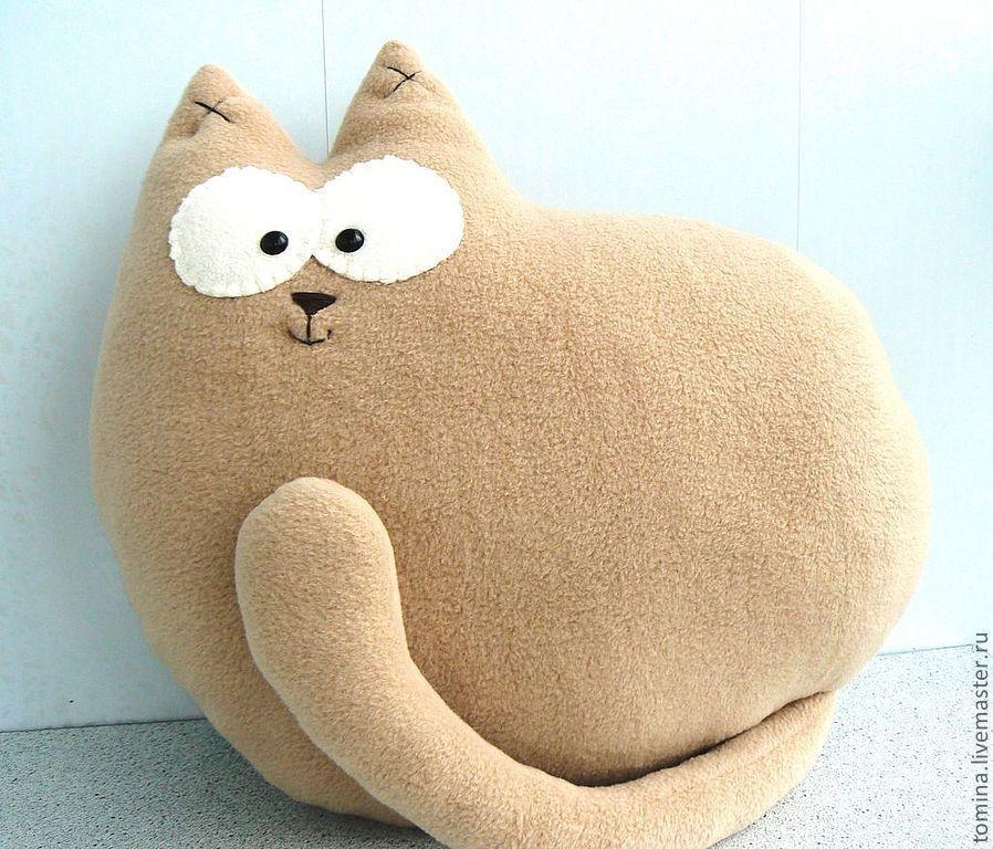Подушки коты своими руками на любой вкус. Выкройки