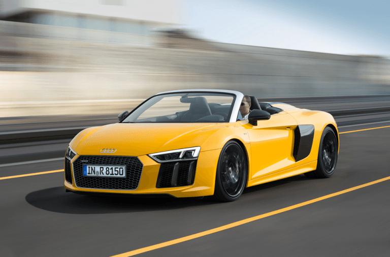 «2017 Audi R8 Coupe желтый кабриолет» — карточка ...