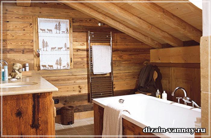 Ванная комната в стиле Лофт, Шале, Ампир их основные требования и характеристики. Фото интерьерных решений.