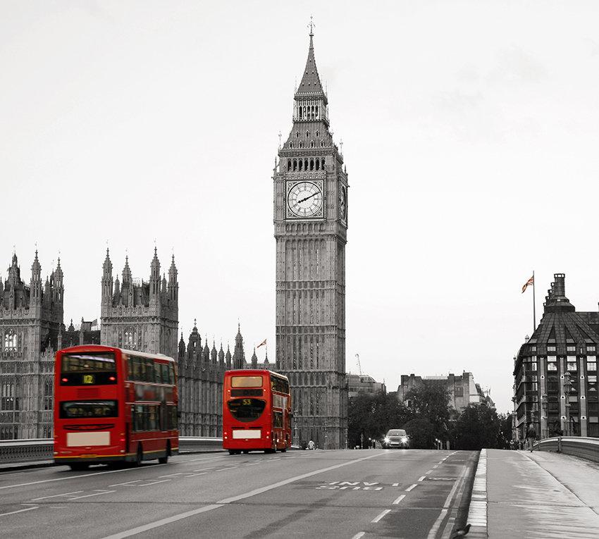 черно белые фото с видами лондона статье представлена