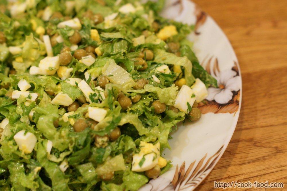 Приготовить вкусный салат из яиц