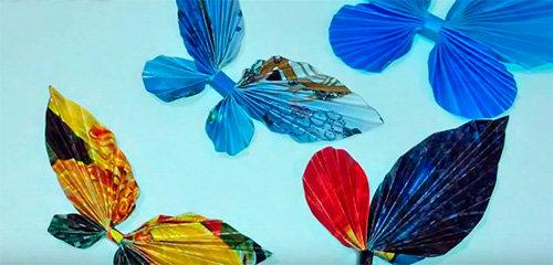 Из цветной бумаги можно создавать совершенно разные поделки. Поэтому этот материал используется достаточно часто на уроках творчества в школе.