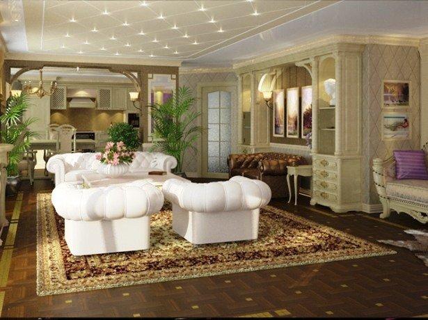 С помощью такого стильного ковра можно до неузнаваемости преобразить гостиную и спальню, привнести элемент строгости в рабочий кабинет или же облагородить комнату для гостей.