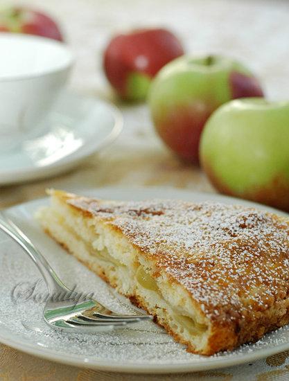 Бабушкин Яблочный Пирог - Голая Еда