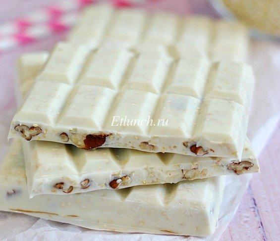 белый шоколад домашний рецепт