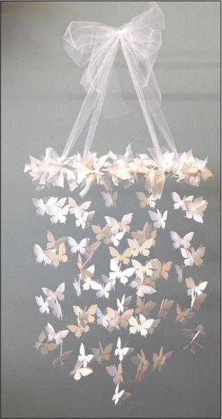 Декор интерьера стен: Бабочки на стене своими руками | Женский Рай |