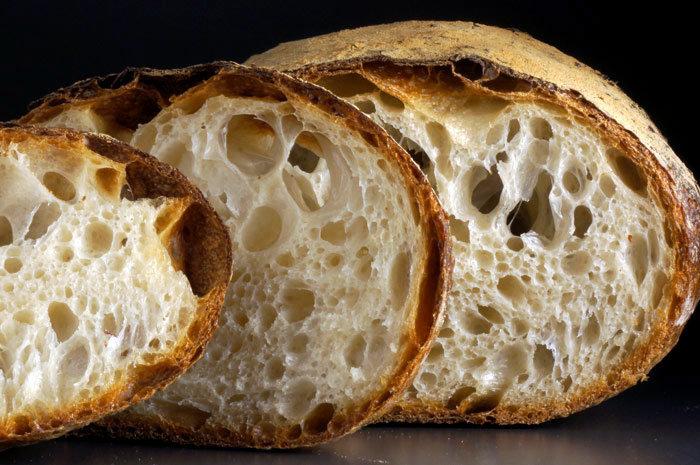Домашний хлеб. Выдуманный рецепт, обычная мука, ручное вымешивание. - ХЛЕБ & ХЛЕБ