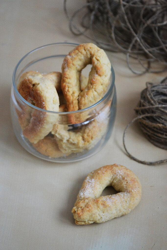 Early Morning: Итальянское песочное печенье 'Торчетти'
