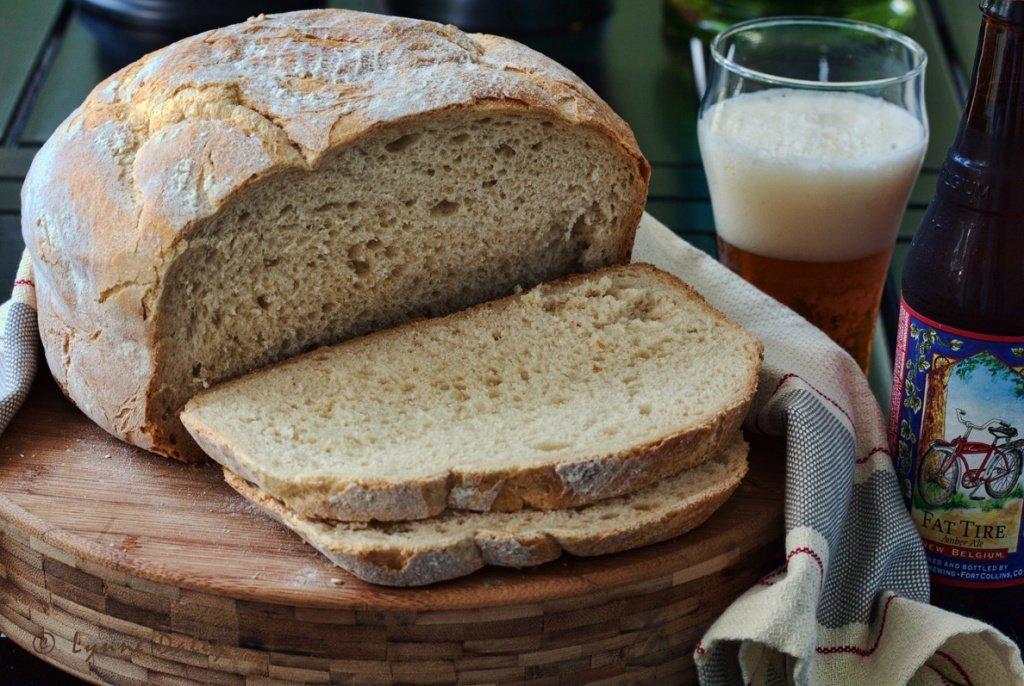 Оригинальный бельгийский хлеб. Простой рецепт на пиве