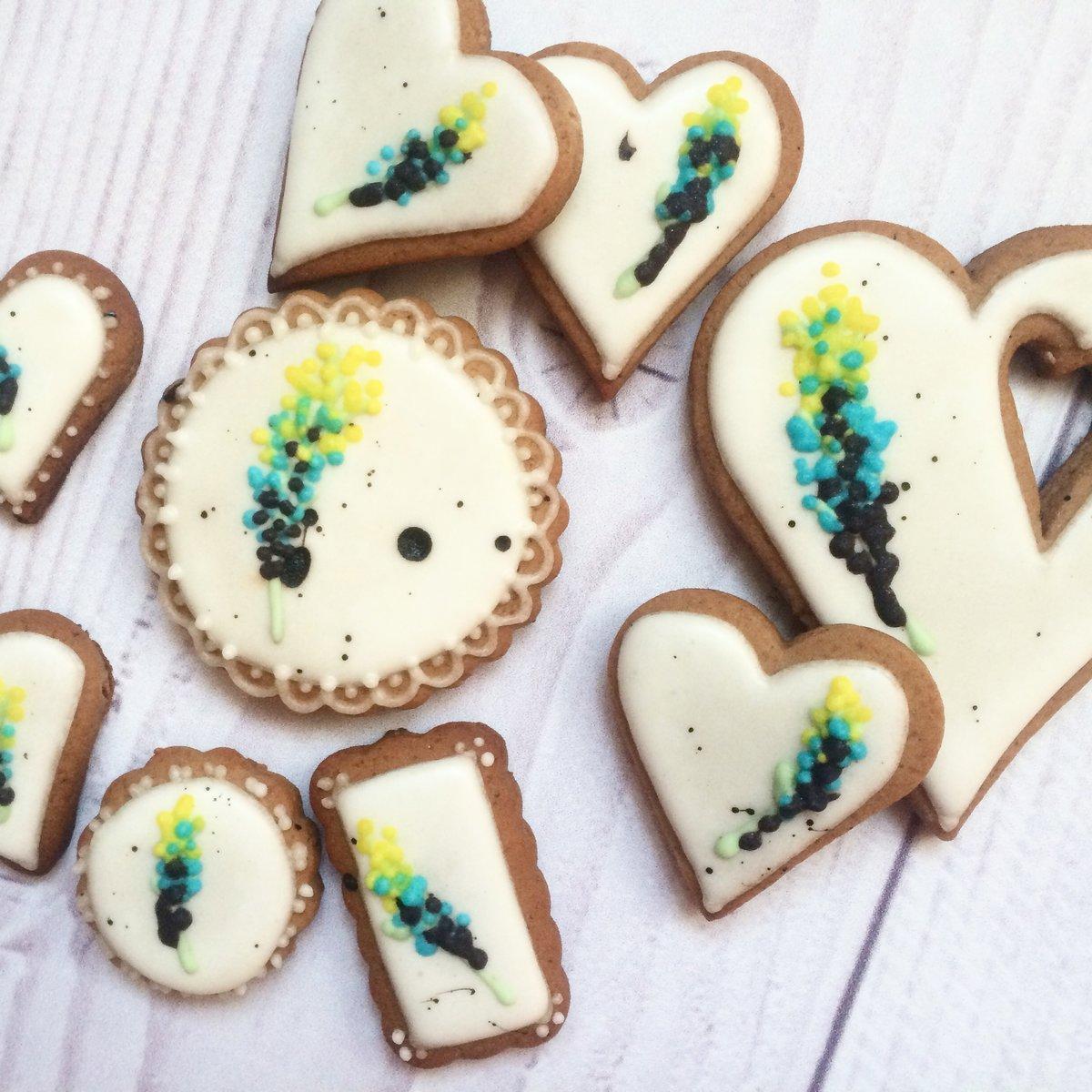 Имбирное печенье на свадьбу.  Ginger biscuits for the wedding | shantilly