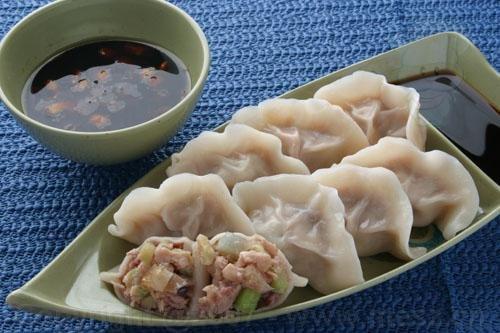 Китайские пельмени с мясом и капустой - SadPanda.cn - блог о Китае