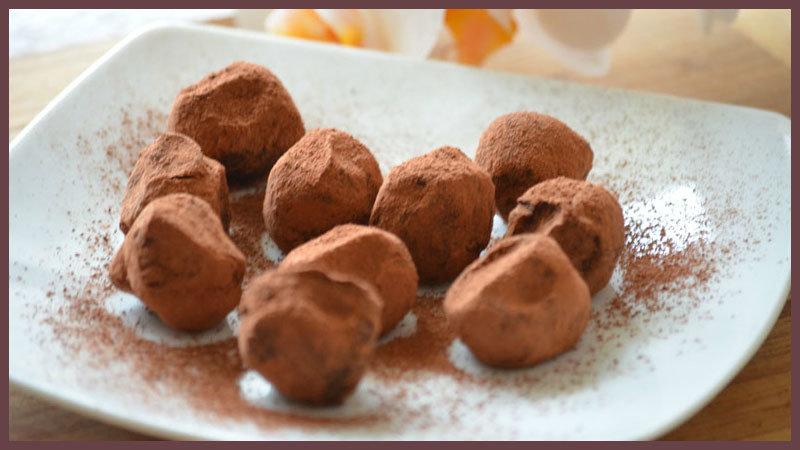 конфеты трюфель