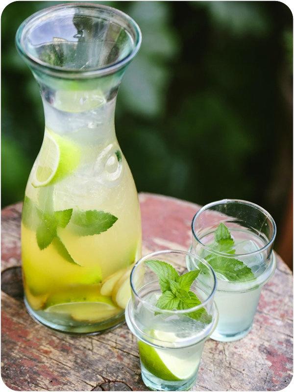 Мятный лимонад для пикника - бабушкин рецепт