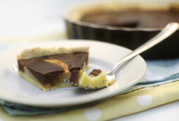 Пирог с грушами, шоколадом и карамелью - Чадейка