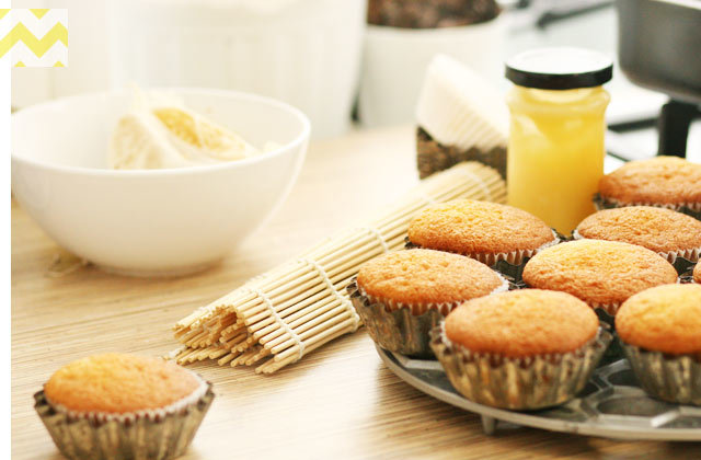 простые кексы с лимонной цедрой рецепт