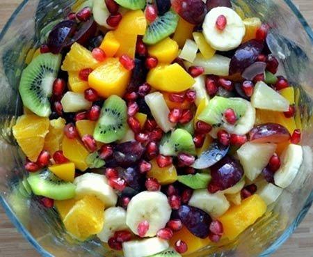 Скачать фото фруктового салата