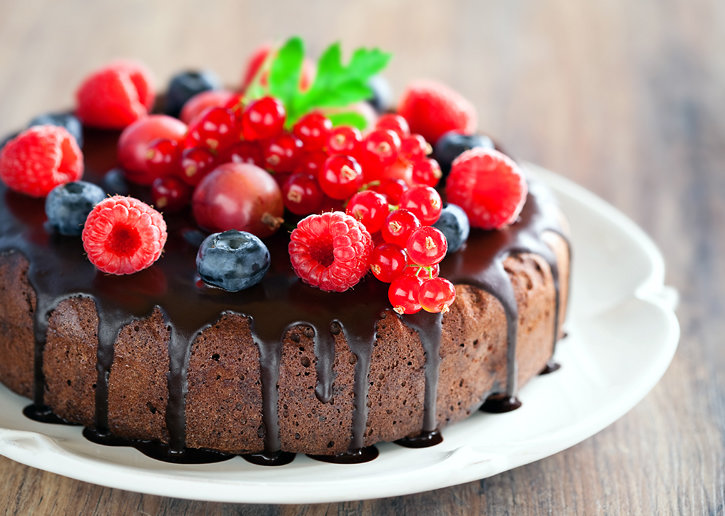 торт с ягодами рецепт с фото