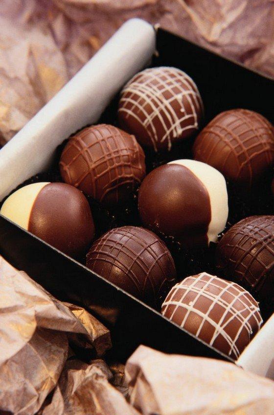 Традиционно самыми вкусными и качественными считаются конфеты в коробках