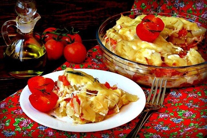 Запеканка из картофеля и форели - рецепт - как приготовить - ингредиенты, состав, время приготовления - Леди Mail.Ru