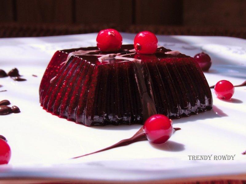 Желе из черной смородины  - Trendy Rowdy