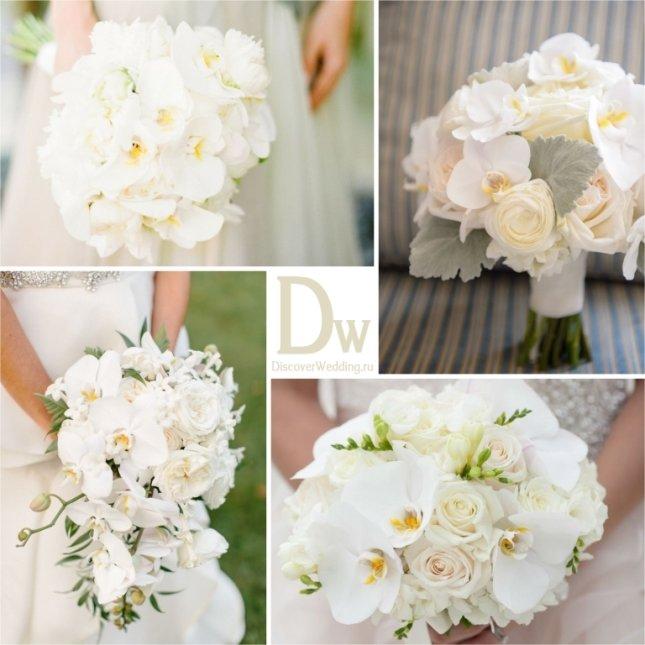 10 цветов для белого букета невесты | Love&Life