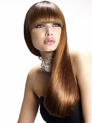 Блестящие и красивые волосы после ламинирования