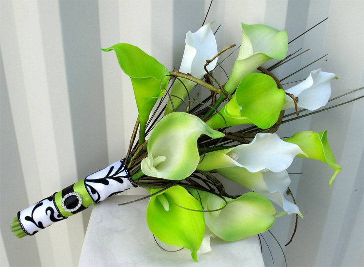 Букет из цветов калл