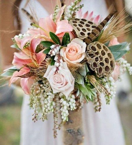 Букет невесты 2016: 90 фото самых модных букетов