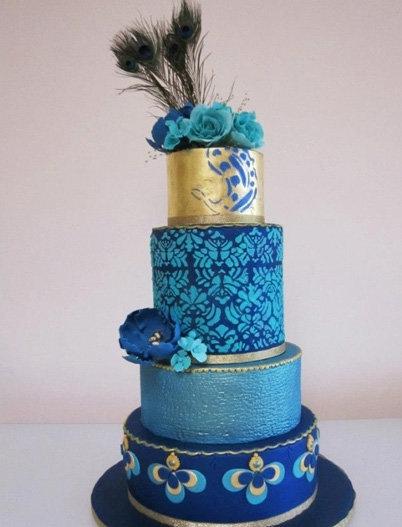 Декор свадьбы в синем цвете: как оформить стильно и правильно?