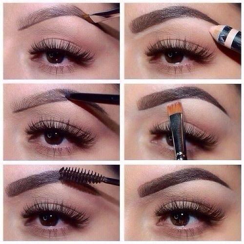 Форма брови - как сделать её правильно. | Макияж глаз
