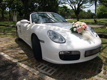 Как может выглядеть свадебный кортеж?