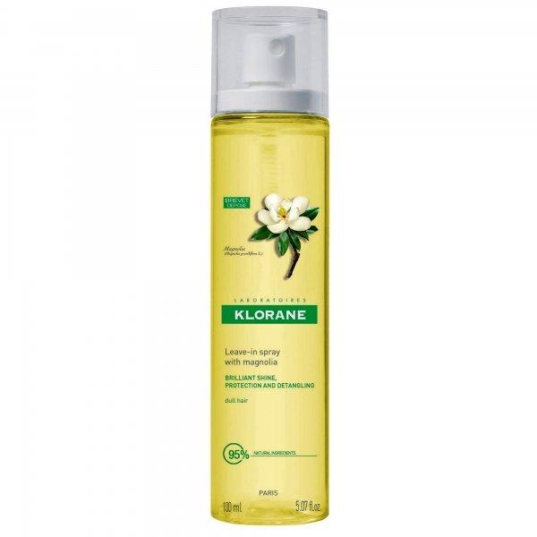Клоран Спрей с воском магнолии для блеска волос, 100мл - Klorane
