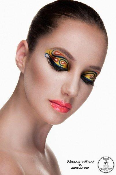 Курс Акварельная техника в коммерческом и фантазийном макияже