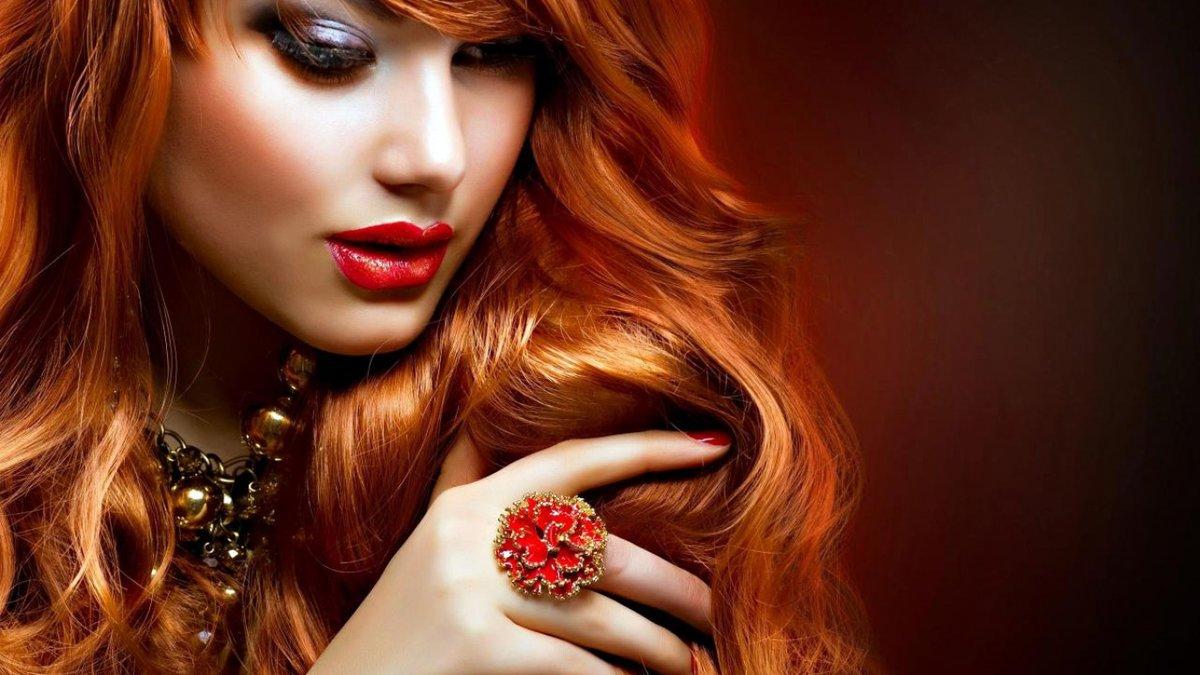 макияж для рыжеволосых девушек с зелеными глазами