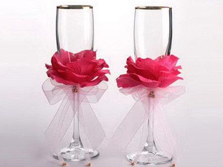 Охота на свадьбу :: Свадебные бокалы: бить или не бить?