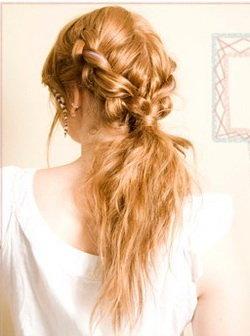 пошаговые прически на средние волосы