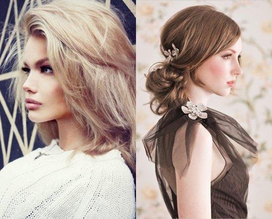 Прически на выпускной 2013 на средние волосы, фото