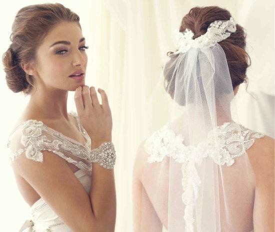 Причёски с длинной фатой, интернет-магазин свадебных аксессуаров :: Fashion Stylist