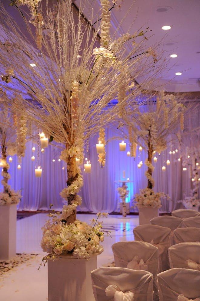 Самые красивые свадебные декорации-2013