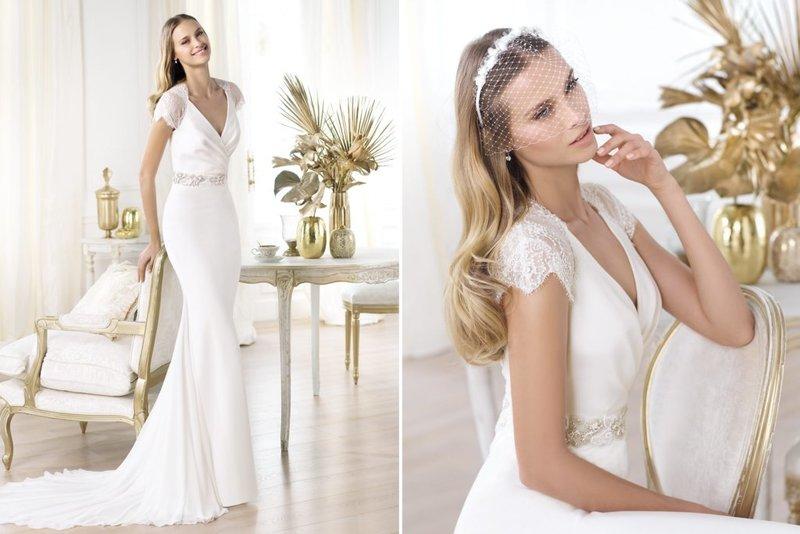 Самые красивые свадебные платья 2014 (22 фото)