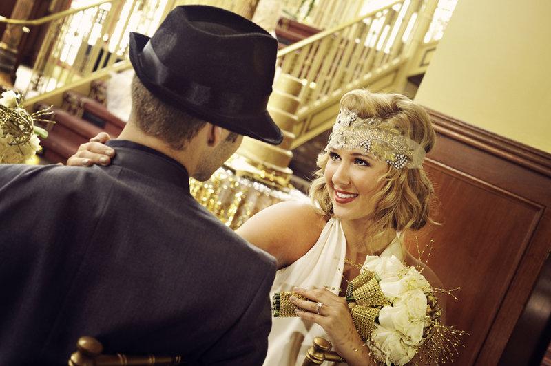 стилизованная свадьбы