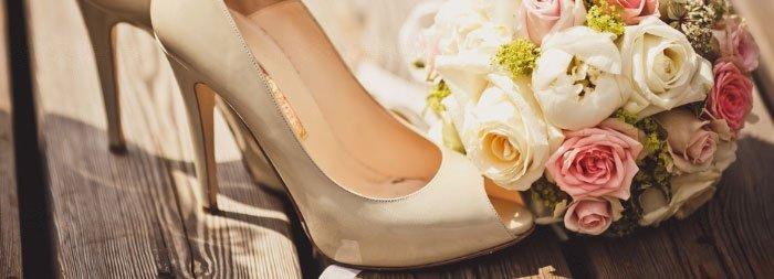 Стильная обувь для невесты