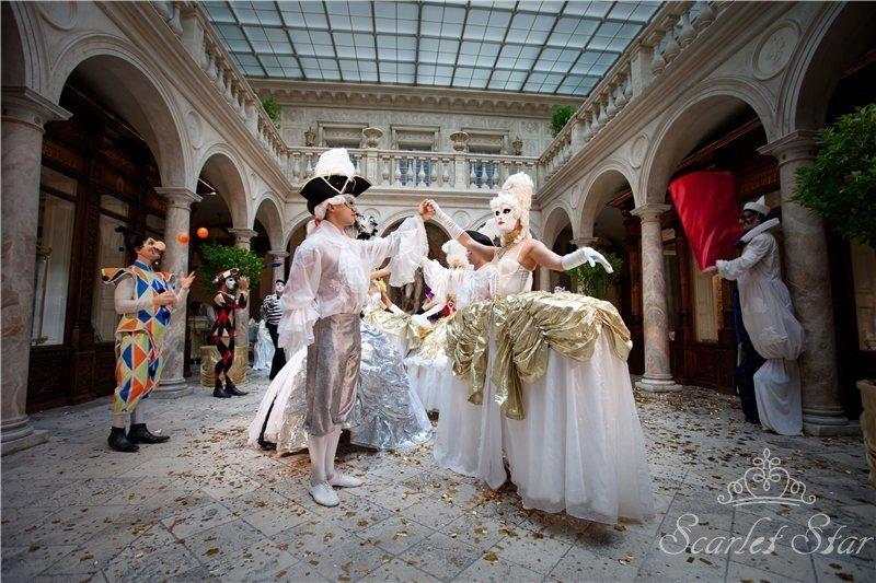 Свадьба в стиле Венецианский карнавал – Cвадебное агентство «Скарлет Стар»