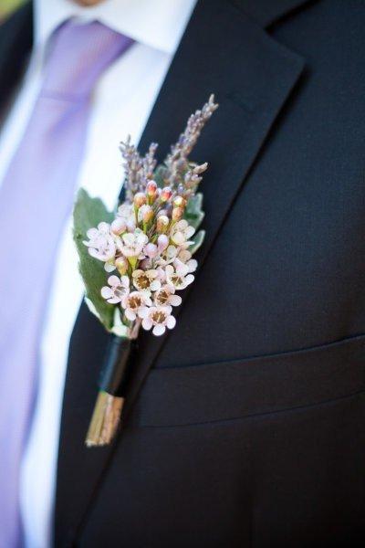 Свадебная бутоньерка для жениха | Дизайн интерьера | Декор своими руками