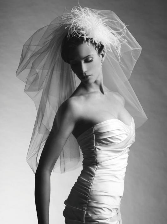 Свадебная фата – главный атрибут невесты