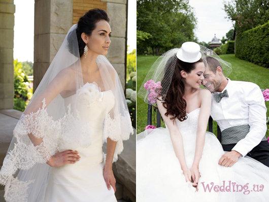 Свадебная фата – модные тенденции 2013 года